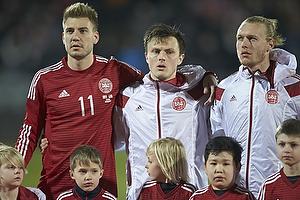 Nicklas Bendtner (Danmark), William Kvist J�rgensen (Danmark)