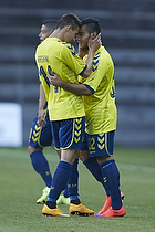 Rezan Corlu, m�lscorer (Br�ndby IF), Elba Rashani (Br�ndby IF)