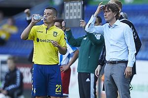 Patrick Da Silva (Br�ndby IF), Thomas Frank, cheftr�ner (Br�ndby IF)