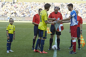 Martin �rnskov, anf�rer (Br�ndby IF), Riccardo Santini, anf�rer (AC Juvenes-Dogana)