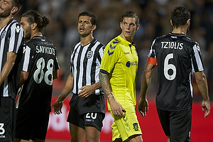 Daniel Agger (Br�ndby IF), Ricardo Costa (Paok FC)