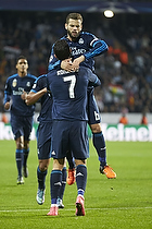Cristiano Ronaldo, anf�rer, m�lscorer (Real Madrid CF), Nacho (Real Madrid CF)