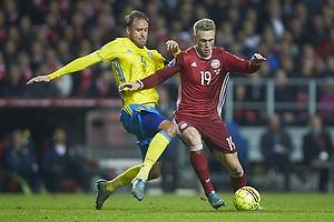 Andreas Granqvist (Sverige), Nicolai J�rgensen (Danmark)