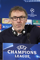 Laurent Blanc, cheftr�ner (Paris Saint-Germain)