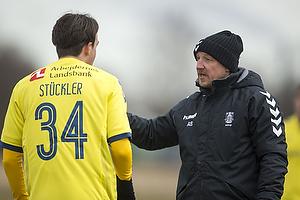Daniel St�ckler (Br�ndby IF), Auri Skarbalius, cheftr�ner (Br�ndby IF)