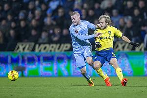 Johnny Thomsen (Randers FC), Teemu Pukki (Br�ndby IF)