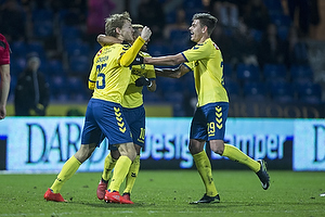Christian Jakobsen (Br�ndby IF), Hany Mukhtar (Br�ndby IF), Jan Kliment (Br�ndby IF)