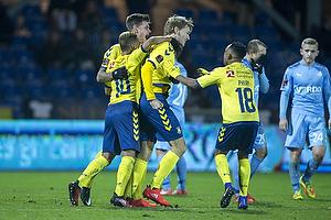 Christian Jakobsen (Br�ndby IF), Hany Mukhtar (Br�ndby IF), Jan Kliment (Br�ndby IF), Lebogang Phiri (Br�ndby IF)