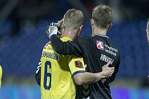 Hj�rtur Hermannsson (Br�ndby IF), Frederik R�nnow (Br�ndby IF)