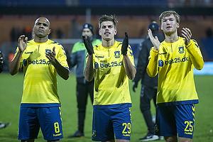 Rodolph William Austin (Br�ndby IF), Jan Kliment (Br�ndby IF), Christian Jakobsen (Br�ndby IF)