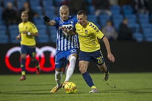 Kamil Wilczek (Br�ndby IF), Andreas Nordvik (Esbjerg fB)