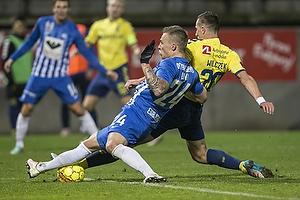 Kamil Wilczek (Br�ndby IF), Marco Lund (Esbjerg fB)