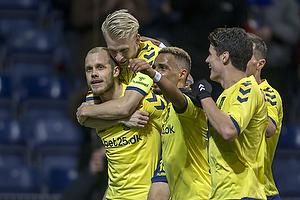 Teemu Pukki, m�lscorer (Br�ndby IF), Johan Larsson (Br�ndby IF), Hany Mukhtar (Br�ndby IF)