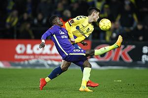 Paul Onuachu (FC Midtjylland), Svenn Crone (Br�ndby IF)