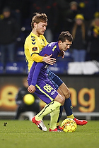 Christian Jakobsen (Br�ndby IF), Gustav Wikheim (FC Midtjylland)