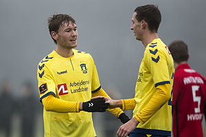 Christian Jakobsen, m�lscorer (Br�ndby IF), Gustaf Nilsson (Br�ndby IF)