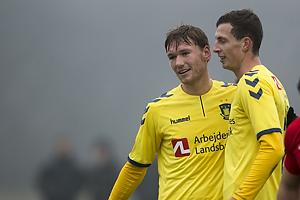 Christian Jakobsen, m�lscorer (Br�ndby IF), Gustaf Nilsson (Br�ndby IF)
