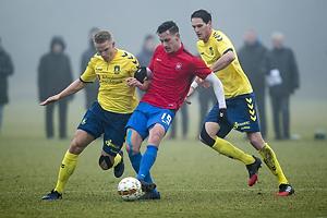 Hj�rtur Hermannsson (Br�ndby IF), Mikkel Knudstrup (Hvidovre IF)