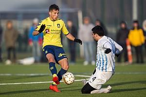 Andrew Hjulsager (FC K�benhavn), Daniel Segev J�rgensen (FC Roskilde)