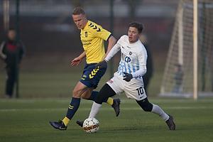 Hj�rtur Hermannsson (Br�ndby IF), Mikkel N�hr Christensen (FC Roskilde)