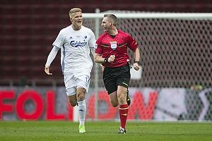Andreas Cornelius (FC K�benhavn), Jakob Kehlet, dommer