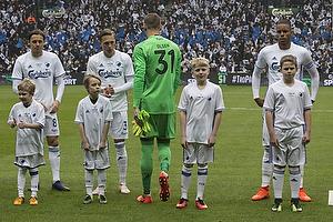 Uros Matic (FC K�benhavn), Ludwig Augustinsson (FC K�benhavn), Robin Olsen (FC K�benhavn), Mathias Zanka J�rgensen (FC K�benhavn)