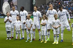 Federico Santander (FC K�benhavn), Jores Okore (FC K�benhavn), William Kvist (FC K�benhavn), Andreas Cornelius (FC K�benhavn), Youssef Toutouh (FC K�benhavn)