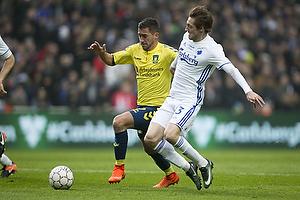 Frederik Holst (Br�ndby IF), Rasmus Falk (FC K�benhavn)