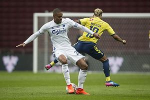 Mathias Zanka J�rgensen (FC K�benhavn), Hany Mukhtar (Br�ndby IF)