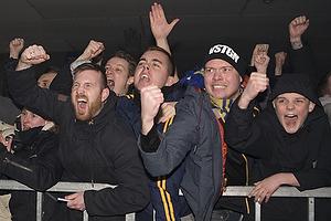 Glade fans modtager spillerne fra Br�ndby IF