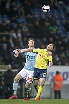 Kamil Wilczek (Br�ndby IF), Kees Luijckx (S�nderjyskE)