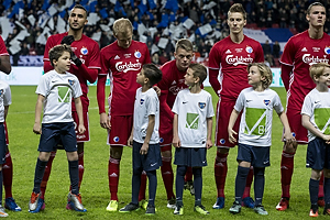 Youssef Toutouh (FC K�benhavn), Uidentificeret person (FC K�benhavn), Kasper Kusk (FC K�benhavn)