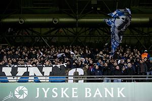 Fck-fans p� �vre A-tribune