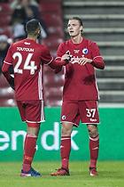 Julian Kristoffersen, m�lscorer (FC K�benhavn), Youssef Toutouh (FC K�benhavn)