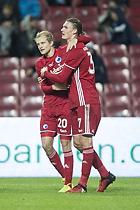Julian Kristoffersen, m�lscorer (FC K�benhavn), Nicolai Boilesen (FC K�benhavn)