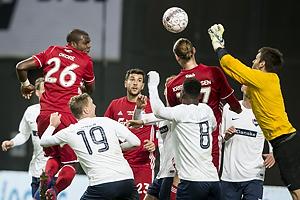 Jores Okore (FC K�benhavn), Simon Carstensen (B93), Danny Mirabel (B93), Jakob Thomsen (B93)