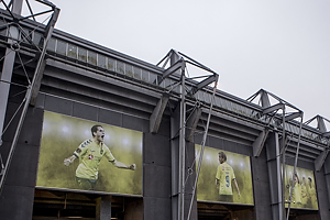 Br�ndby Stadion udefra