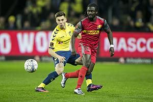 Gregor Siko�ek (Br�ndby IF), Ernest Asante (FC Nordsj�lland)