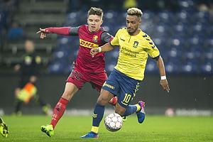Mads Mini Pedersen (FC Nordsj�lland), Hany Mukhtar (Br�ndby IF)
