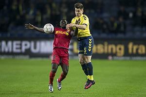 Ernest Asante (FC Nordsj�lland), Gregor Siko�ek (Br�ndby IF)