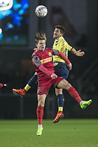 Mathias Jensen (FC Nordsj�lland), Frederik Holst (Br�ndby IF)