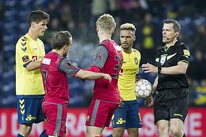 Christian N�rgaard (Br�ndby IF), Stanislav Lobotka (FC Nordsj�lland), Hany Mukhtar (Br�ndby IF)