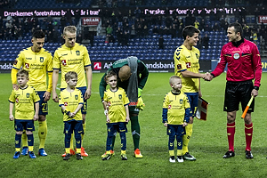 Svenn Crone (Br�ndby IF), Hj�rtur Hermannsson (Br�ndby IF), Adam Larsen Kwarasey (Br�ndby IF), Christian N�rgaard (Br�ndby IF)