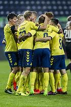 Christian N�rgaard (Br�ndby IF), Paulus Arajuuri (Br�ndby IF), Rodolph William Austin (Br�ndby IF), Gregor Siko�ek (Br�ndby IF)