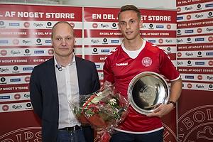 Niels Frederiksen, landstr�ner U-21 (Danmark), Marcus Ingvartsen (Danmark)