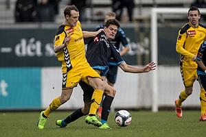 Mikkel Jespersen (AC Horsens), Christian N�rgaard (Br�ndby IF)