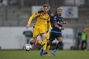 Mathias Nielsen (AC Horsens), Hany Mukhtar (Br�ndby IF)