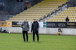Alexander Zorniger, cheftr�ner (Br�ndby IF), Tam�s B�dog, assistenttr�ner (Br�ndby IF)