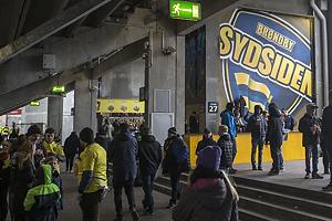 Fans under Sydsiden