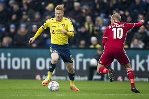 Zsolt Kalm�r (Br�ndby IF), Mikkel Rygaard (Lyngby BK)